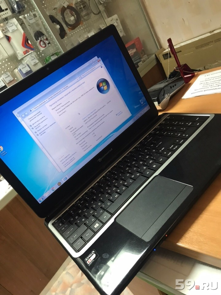 Ноутбук packard bell MS 2495501